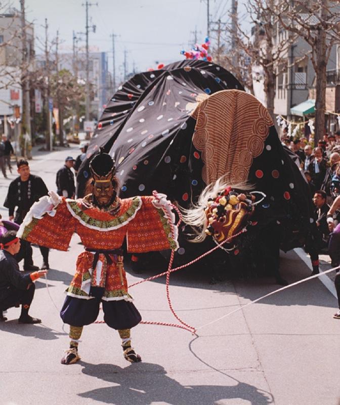 富士写真フィルム賞「東野の大獅子」