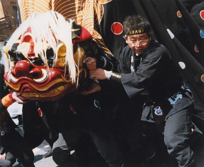 飯田カメラ商組合賞「よし!おれ(大獅子)の出番だ」
